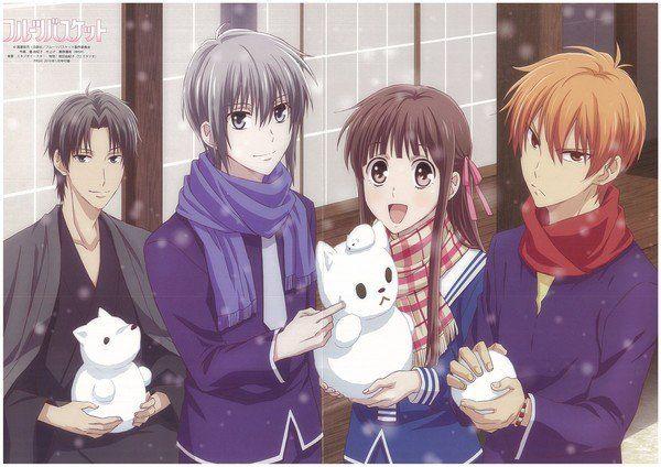 Premiere Report Fruits Basket 2019 Anime News Network Fruits Basket Anime Fruits Basket Kyo Fruits Basket Manga