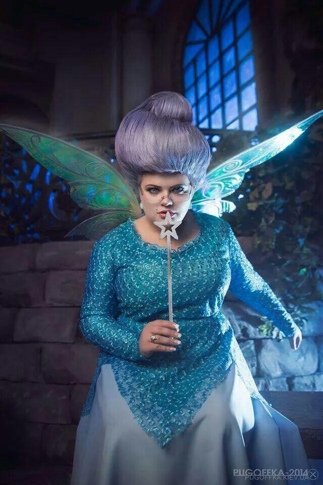 Fairy godmother from Shrek!