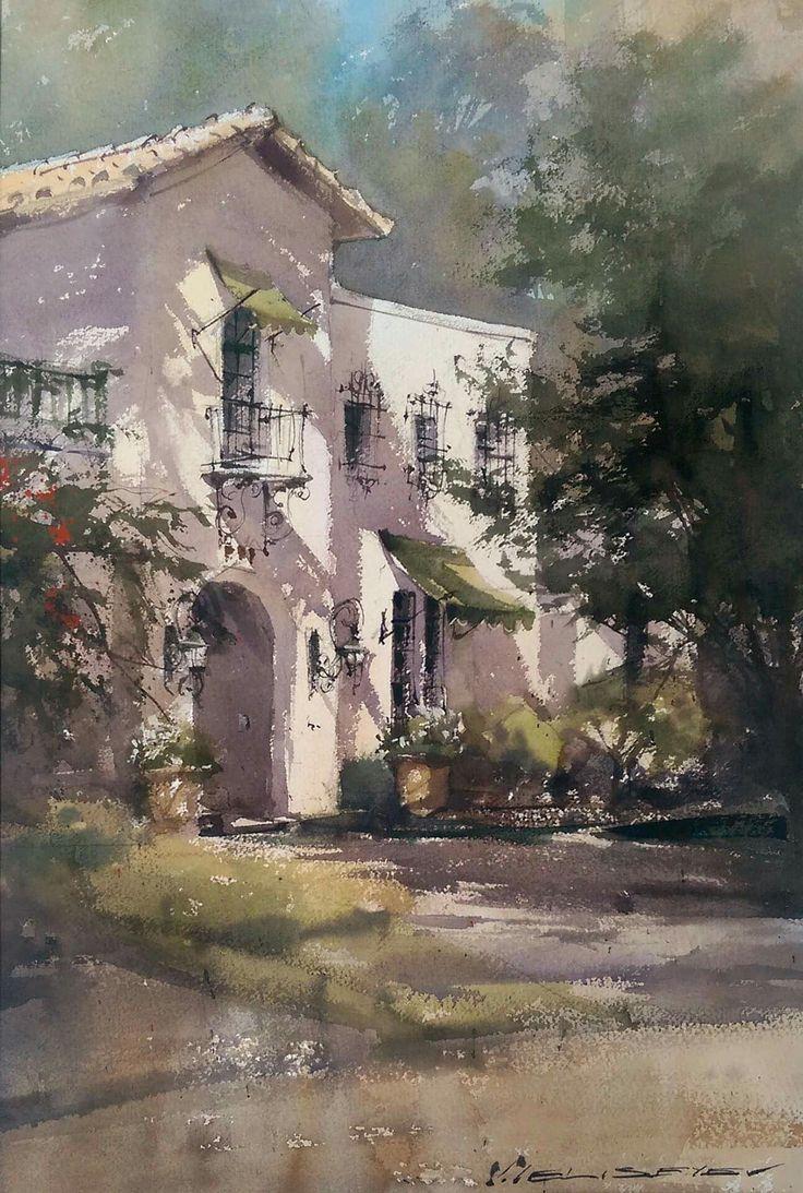 Watercolor artist magazine palm coast fl - Vladislav Yeliseyev Watercolor Ideaswatercolor Artistswatercolor