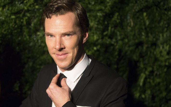 Descargar fondos de pantalla Benedict Cumberbatch, el actor Británico, retrato, actores famosos