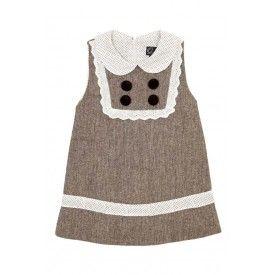 Oobi Penelope Tweed Dress