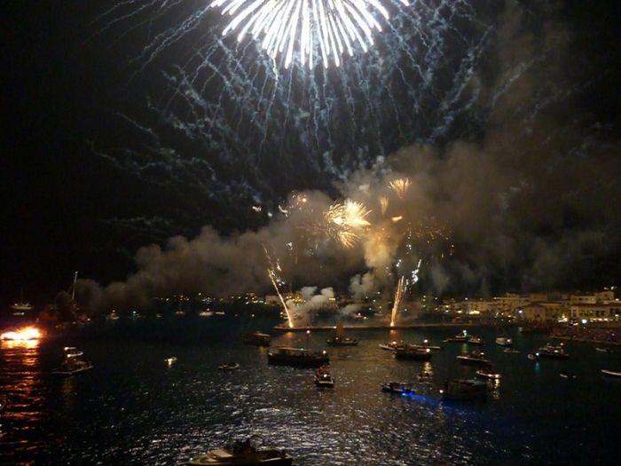 Armata festival in Spetses town