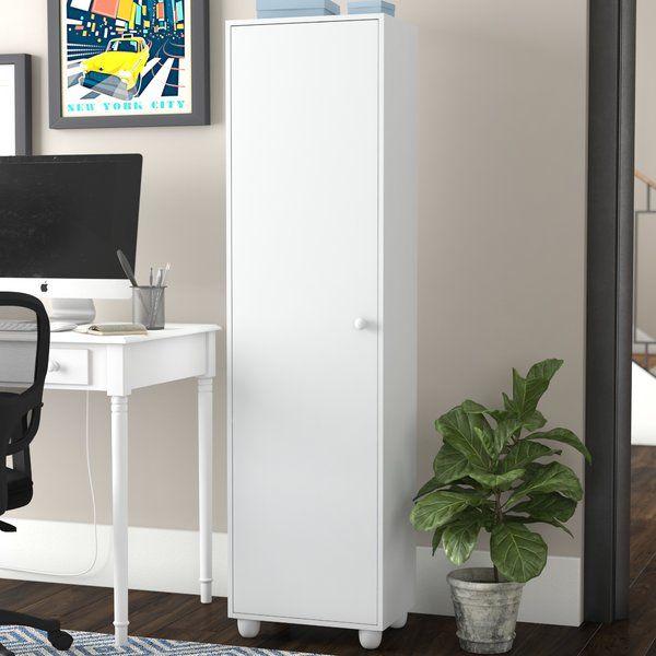 Aaronsburg 1 Door Storage Cabinet Door Storage Tall Cabinet Storage Storage Cabinets