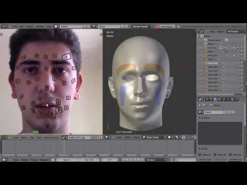 Facial Motion Capture with Blender - YouTube
