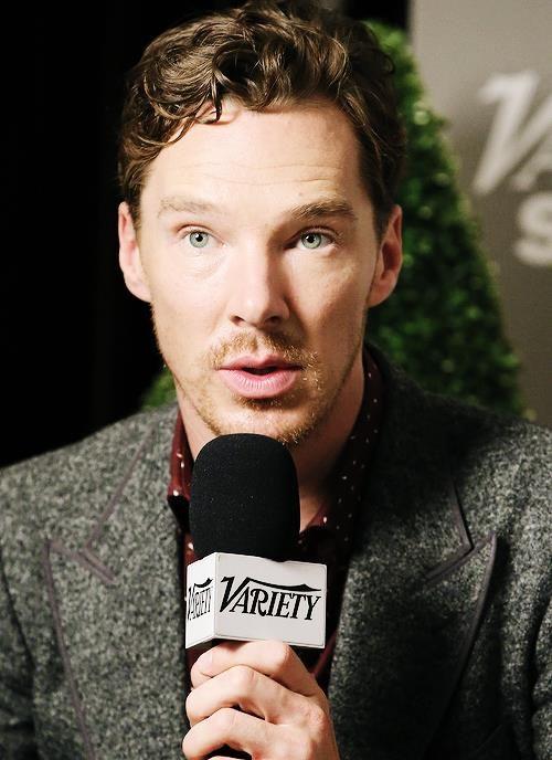 Ben<--notice his eyes match his suit jacket
