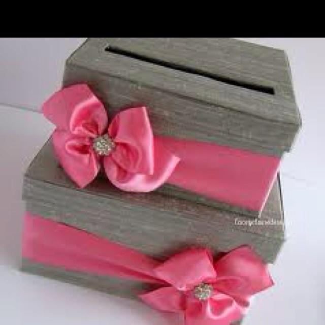 30 best money boxes images on Pinterest | Wedding stuff, Wedding ...