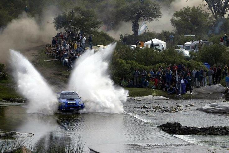 Subaru Impreza WRX STi, #WRC, #Rally #Water Splash,