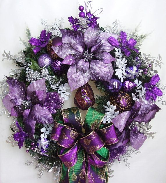 Christmas Decorations In Purple: 25+ Unique Purple Christmas Decorations Ideas On Pinterest