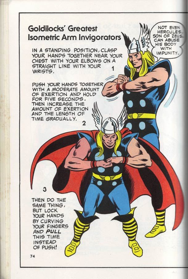 Mighty Marvel Comics Strength and Fitness Book. For more Marvel comics visit #comiXology. #ComicBook #Read