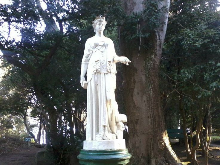 Escultura en Parque Isidora Cousiño