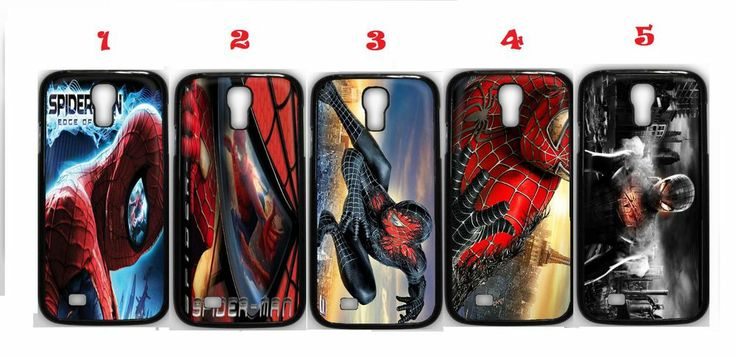 Spiderman 5 Samsung Galaxy S4 Fitted Case/Skin Case Black (1Pcs)