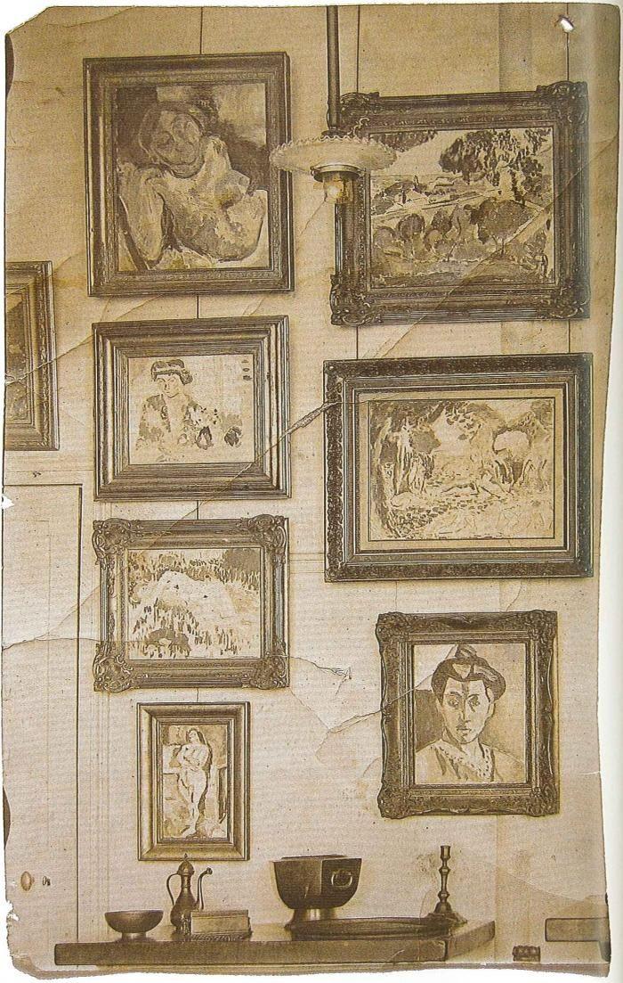 A Stein-enteriőr részlete, 1905-07 Rippl-Rónai József hagyatéka, MNG Adattár Itsz: 5134/1950/29.  artmagazin az on-line művészeti magazin