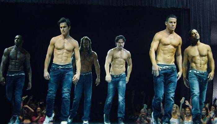 Channing Tatum Uses Shirtless Men And Puppies To Announce 'Magic Mike Live'
