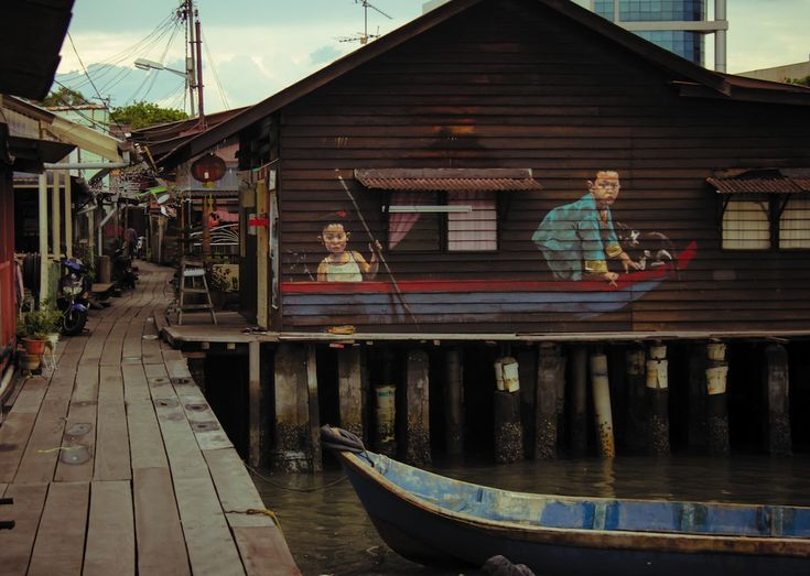 Amazing street arts by  Ernest Zacharevich in Penang, Malaysia ~ EKSPRESIRUANG
