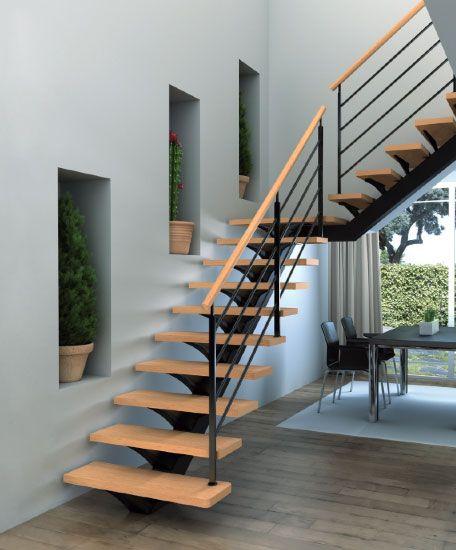 2412 best stairs images on pinterest - Transformer un escalier en bois ...