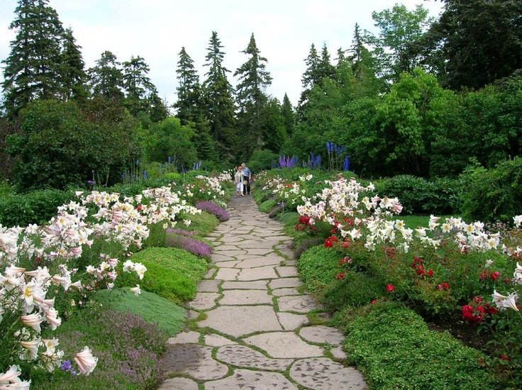 36 best images about cr er une all e de dalles on for Visiter les plus beaux jardins anglais