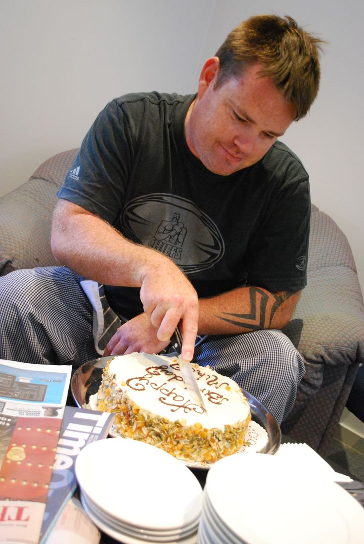 Eden Catering | Nothing says Happy Birthday better then a Carrot Cake with cream cheese icing Happy Birthday Mikey, enjoy!.