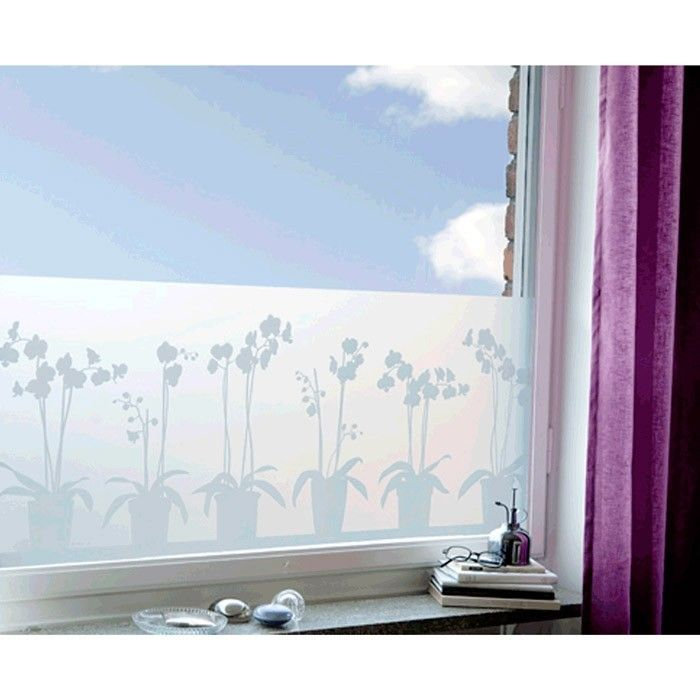 decorative window screen film film occultant lapadd. Black Bedroom Furniture Sets. Home Design Ideas