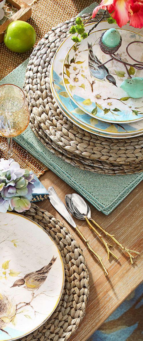 Spring Dinnerware | Spring Decor