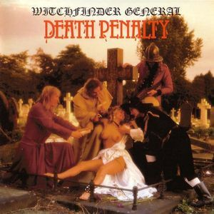 Witchfinder General - Death Penalty LP Record Album On Vinyl