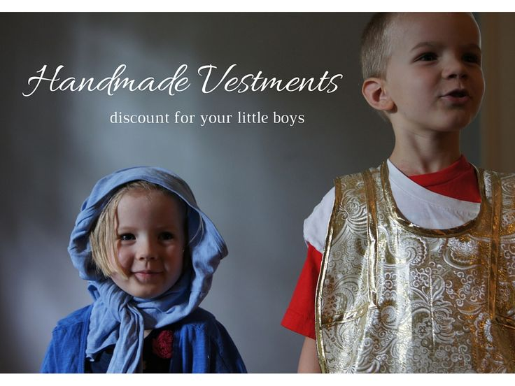 193 best growing in your faith images on pinterest catholic roman when my kids play mass hand made vestment review coupon code fandeluxe Gallery