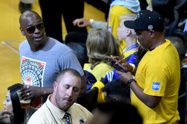 Dave Chappelle Photos Photos - Comedian Dave Chappelle attends Game 2 of the 2017 NBA Finals at ORACLE Arena on June 4, 2017 in Oakland, California. NOTE TO USER: User expressly acknowledges and agrees that, by downloading and or using this photograph, User is consenting to the terms and conditions of the Getty Images License Agreement. - 2017 NBA Finals - Game Two