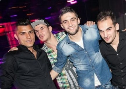 Stag Group During VIP Clubbing in Dance Club Boa #bucharest #stagdo #club