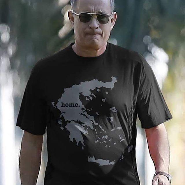 Tom Hanks loves Greece! Bravo Tom! #greece #greek #greeks #greeklife #hellas #tomhanks #athens #parthenon #acropolis