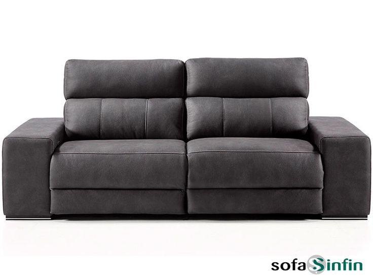 Sofá relax de 3 y 2 plazas modelo Roger fabricado por Acomodel en Sofassinfin.es