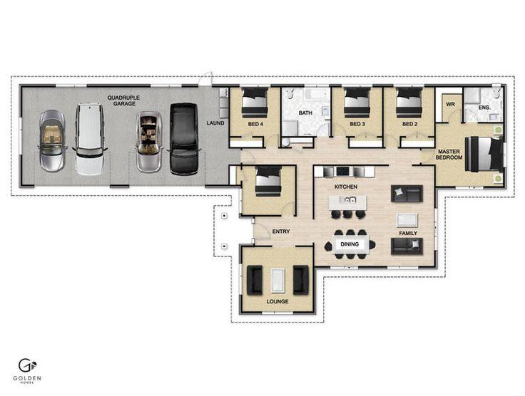Wrangler Floorplan #GoldenHomes