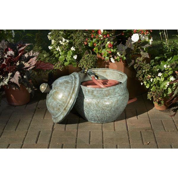 Good Directions Blue Verde Hose Pot Lid Garden Ideas Pinterest