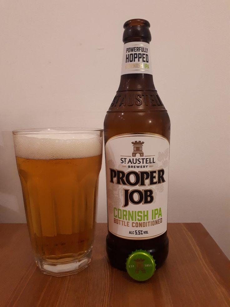 #390 PROPER JOB Cornish IPA 5,5% ⭐⭐⭐⭐⭐
