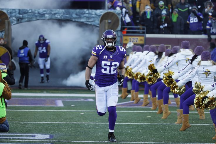 Chad Greenway: 'There's enough football left' for another season ...