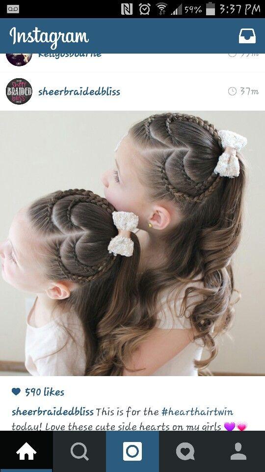 Heart braids