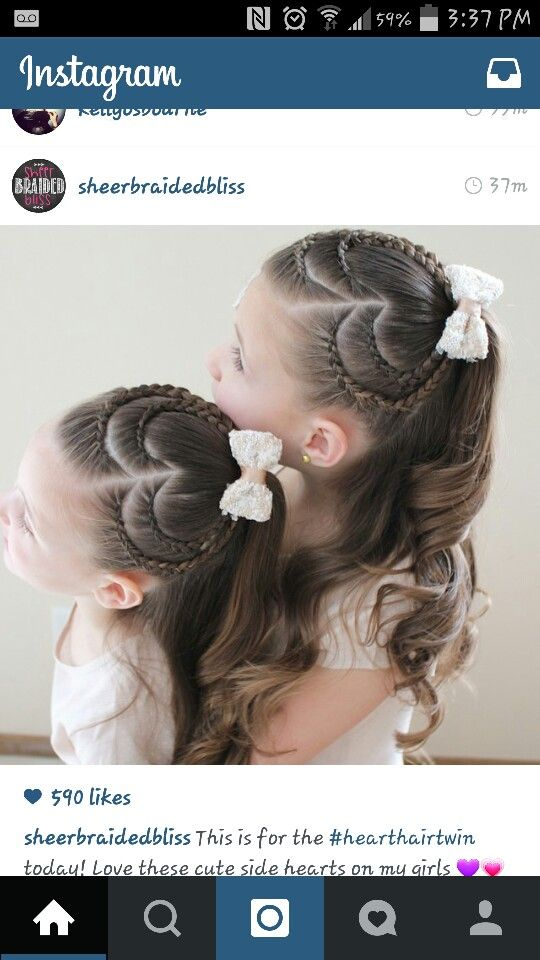 Astounding 1000 Ideas About Heart Braid On Pinterest Braids Pigtail And Short Hairstyles Gunalazisus