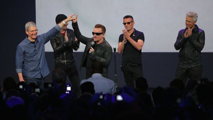 A great way to close the #AppleEvent show last night, when it was announced the new #U2 album was made available for all users of #iTunes totally FREE!