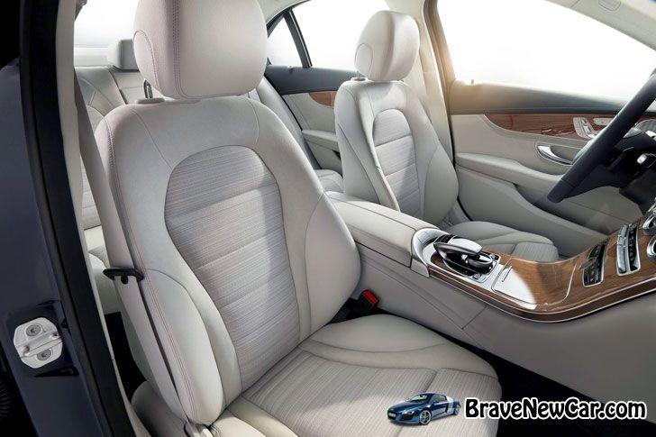 2015 Mercedes-Benz C-Class interior seats