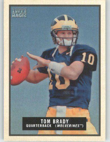 2009 Topps Magic #145 Tom Brady - Michigan / New England Patriots (Football Cards) by Topps Magic. $3.48. 2009 Topps Magic #145 Tom Brady - Michigan / New England Patriots (Football Cards)