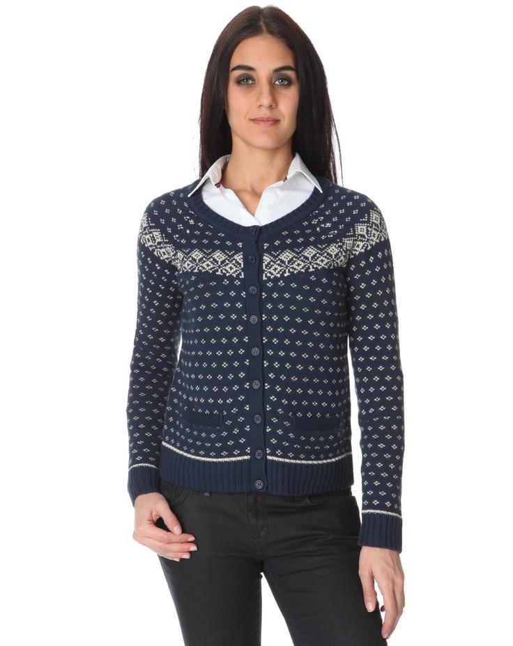 9 - Carling, cardigan Stella bleu marine 15€ #Bazarchic