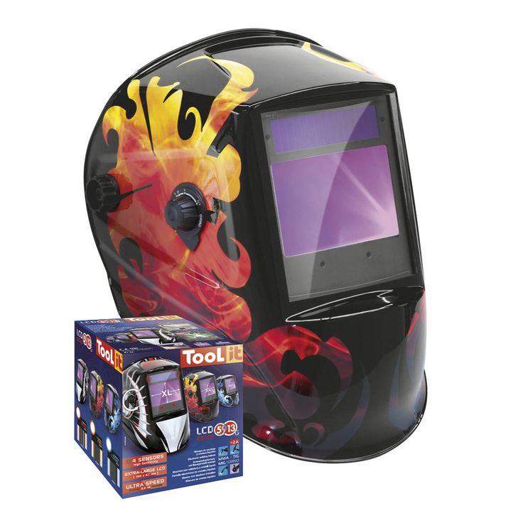 GYS LCD Zeus 5-9/9-13G Fire Helmet