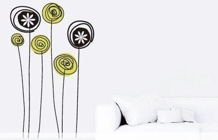 Vinilos Decorativos Flores