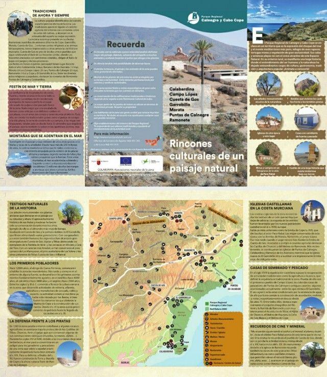 La Consejería de Agua, Agricultura y Medio Ambiente ha editado un folleto titulado 'Rincones culturales de un paisaje natural', que muestra los principales valores del paisaje cultural  ...