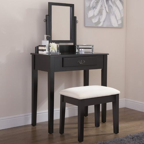 Found it at Wayfair.co.uk - Sheila Dressing Table Set with Mirror