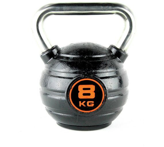 Buy Opti Kettlebell - 8kg at Argos.co.uk, visit Argos.co.uk to shop online for Weights and dumbbells, Weights, multi-gyms and strength training, Fitness equipment, Sports and leisure