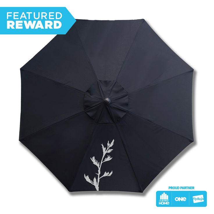 BEANZ Patio Umbrellas #flybuysnz #BEANZ #745points #OFHNZ