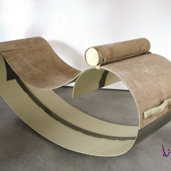 Balancelle chaise longue a dondolo DIMA design