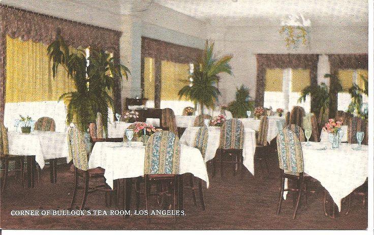 Bullocks Wilshire Tea Room Recipes