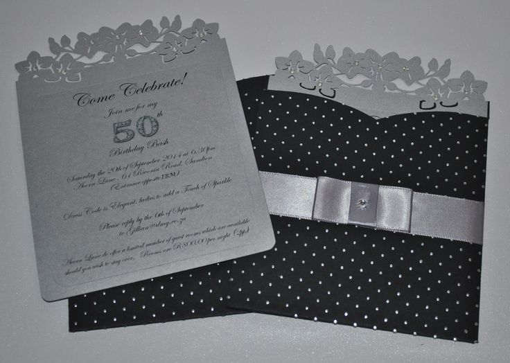Black and Silver 50th