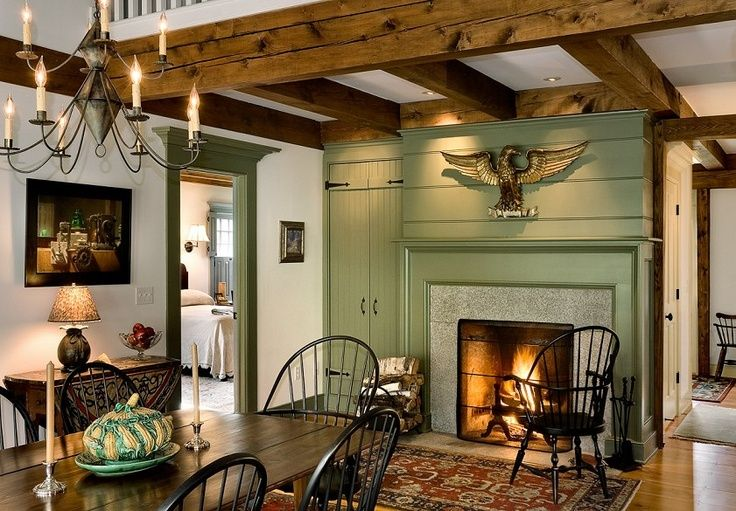 Colonial Dining Rooms For Early American Room