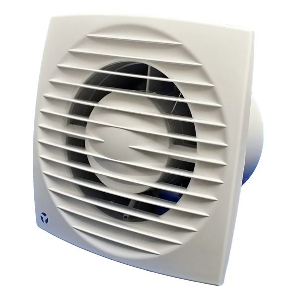 Airflow Aura Eco Slimline Adjule Timer Humidity Fan For Use In Toilets En Suites And Bathrooms